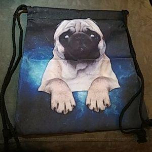 Other - NEW - Backpack -Drawstring shoulder bag - Pug
